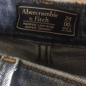 Abercrombie & Fitch Jeans - Abercrombie & Fitch Harper Low Rise - Super Skinny